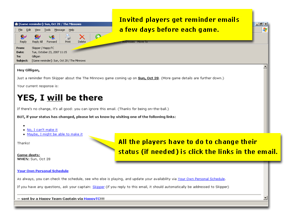 game email: